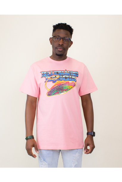 Billionaire Boys Club BB Saucer SS Tee - Pink Icing