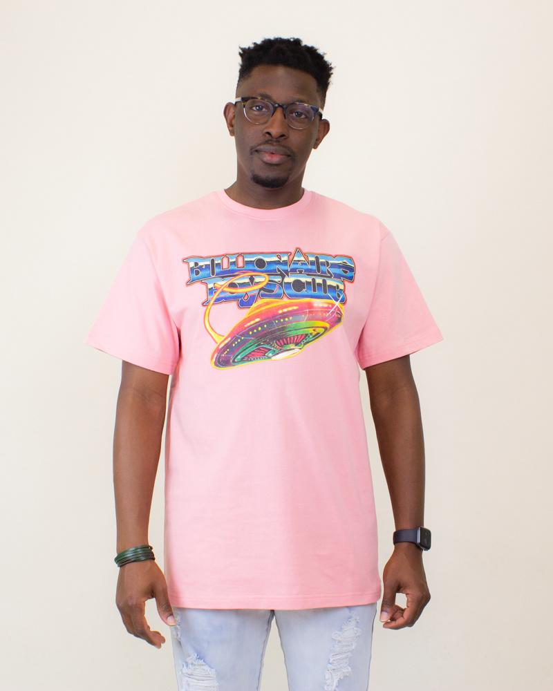 Billionaire Boys Club BB Saucer SS Tee - Pink Icing-1