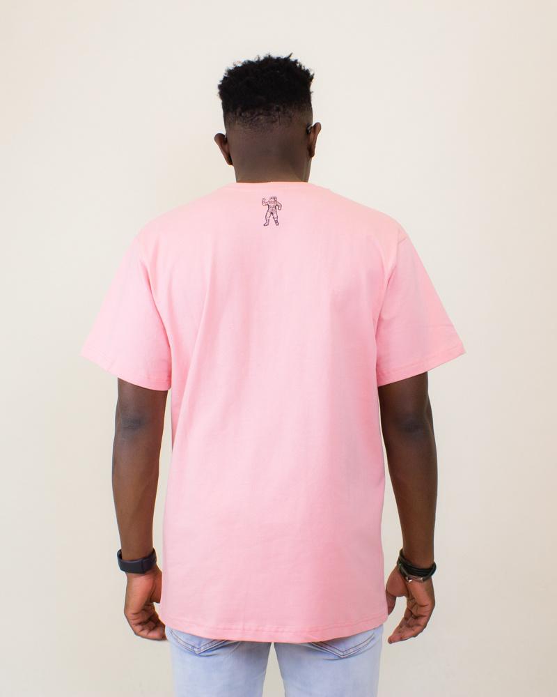 Billionaire Boys Club BB Saucer SS Tee - Pink Icing-2
