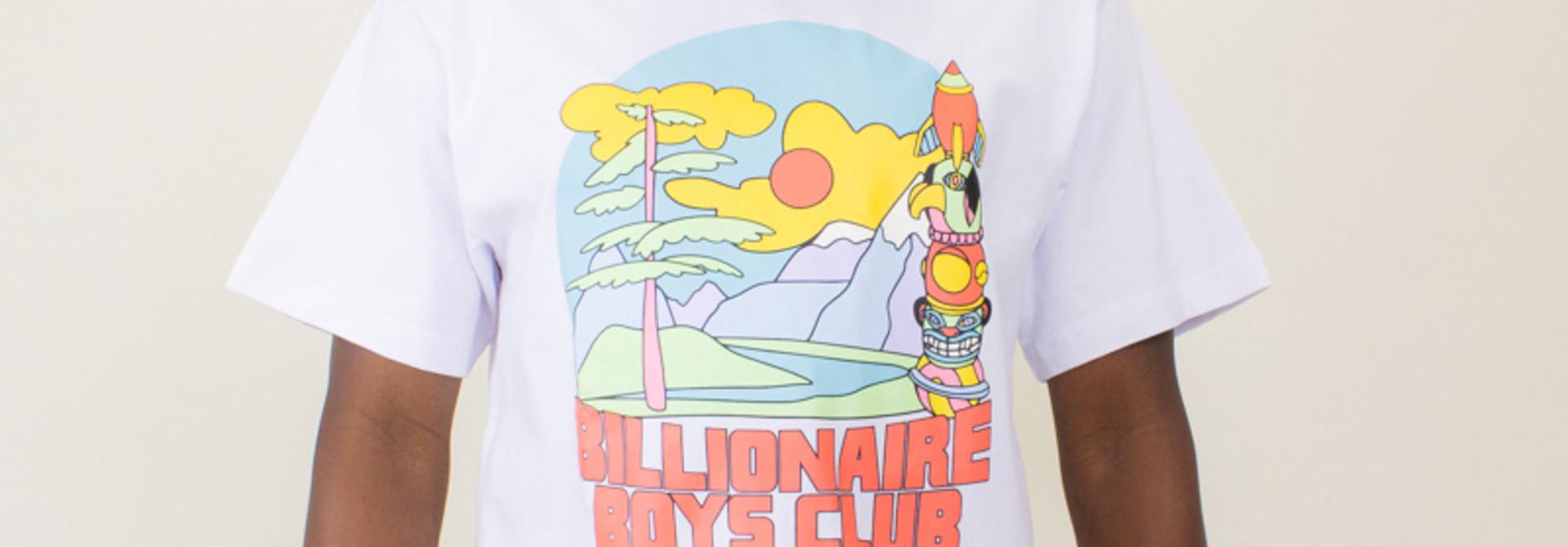 Billionaire Boys Club Great Scene Tee - White