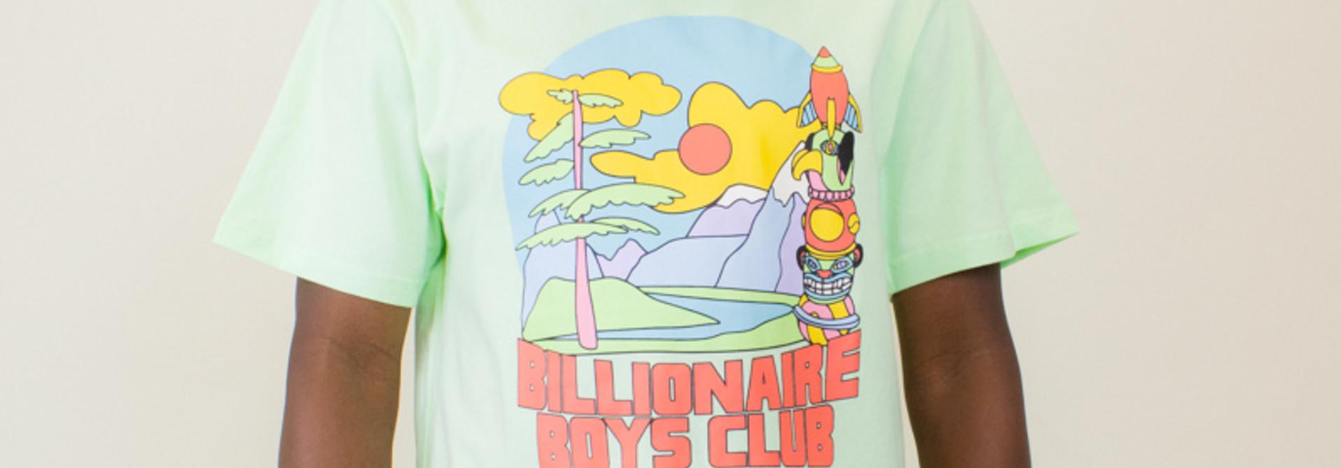 Billionaire Boys Club Great Scene Tee - Patina Green