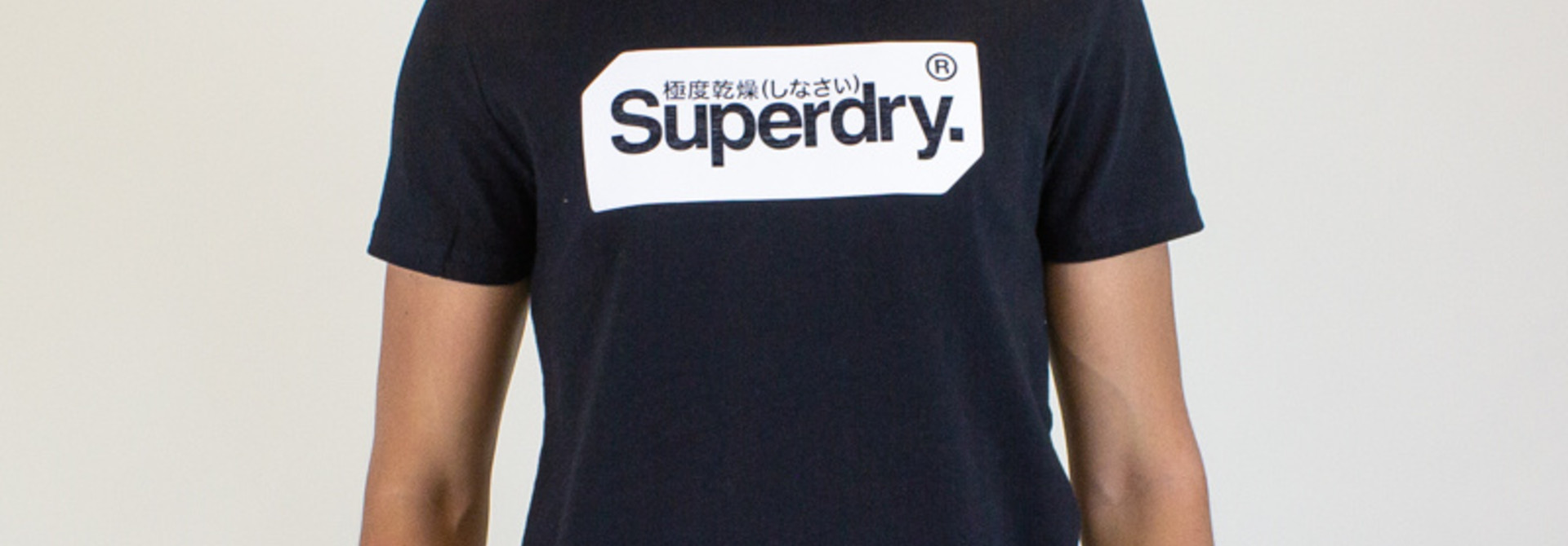 Superdry Core Logo Tag Tee - Black