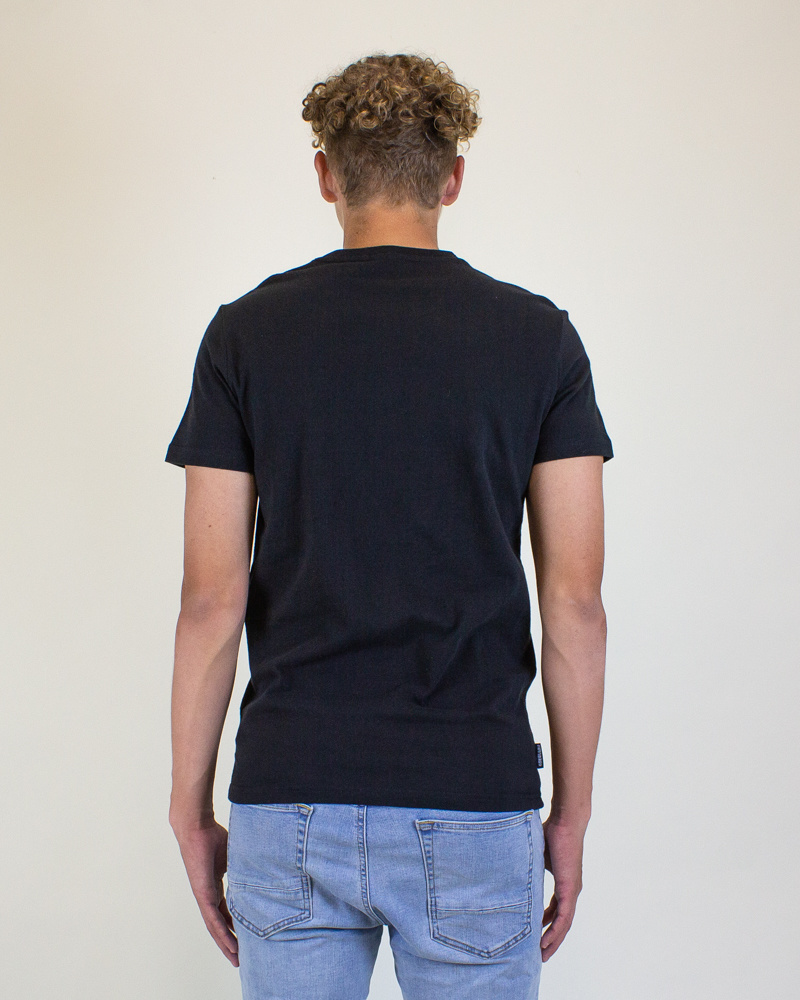 Superdry Core Logo Tag Tee - Black-2