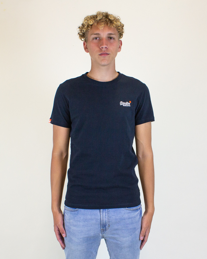 Superdry Orange Label Vintage Tee - Eclipse-1