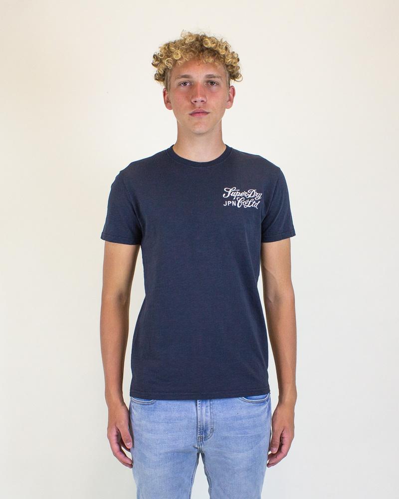 Superdry Workwear Uniform Tee - Dark-1