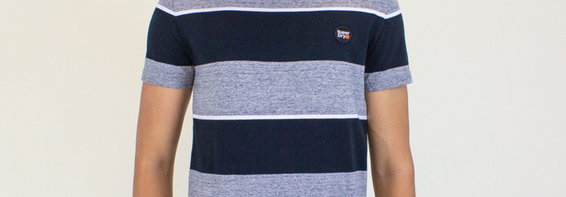 Superdry Collective Stripe Tee - Collective