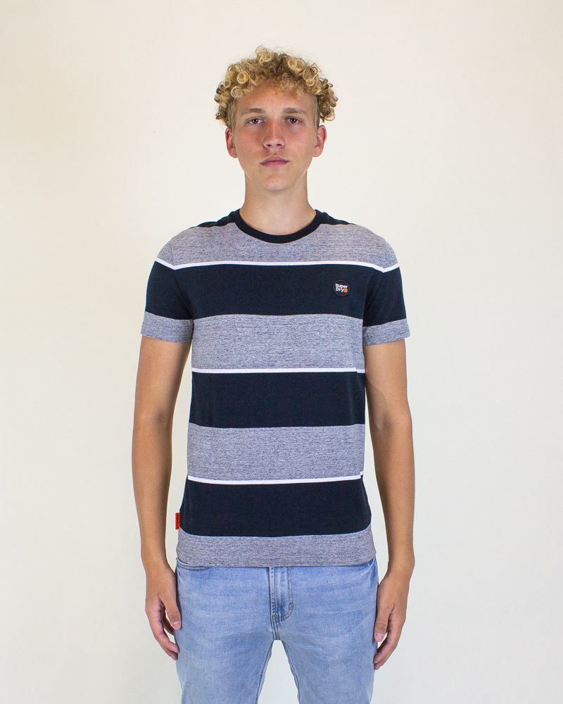 Superdry Collective Stripe Tee - Collective-1