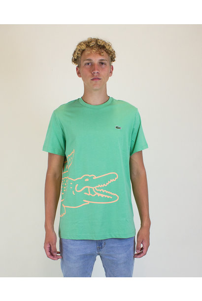 Lacoste Crocodile Print T-Shirt - Liamone