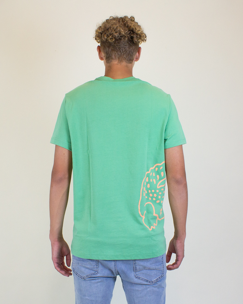 Lacoste Crocodile Print T-Shirt - Liamone-2