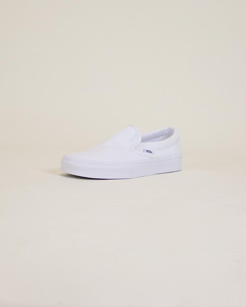 Vans Classic Slip-On - White-3