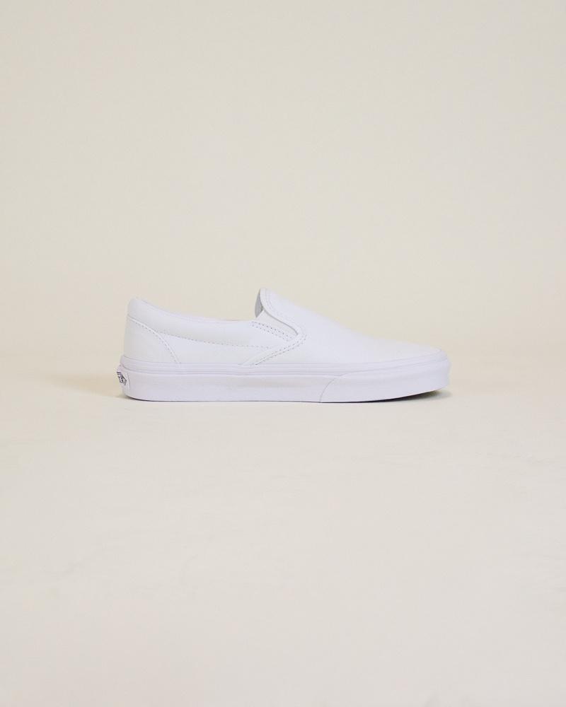 Vans Classic Slip-On - White-4