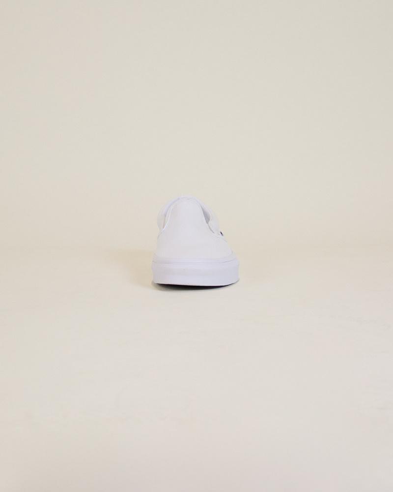 Vans Classic Slip-On - White-5
