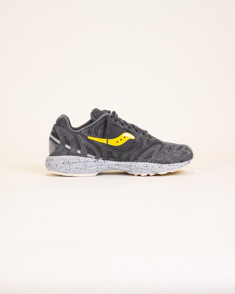 Saucony Grid Azura 2000 - Black/Yellow-4