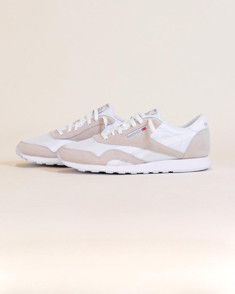 Reebok Classic Nylon - White/Gray-2