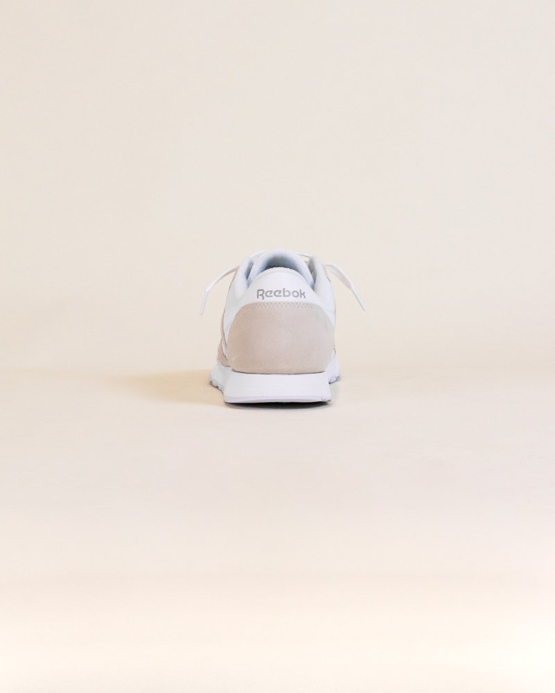 Reebok Classic Nylon - White/Gray-5