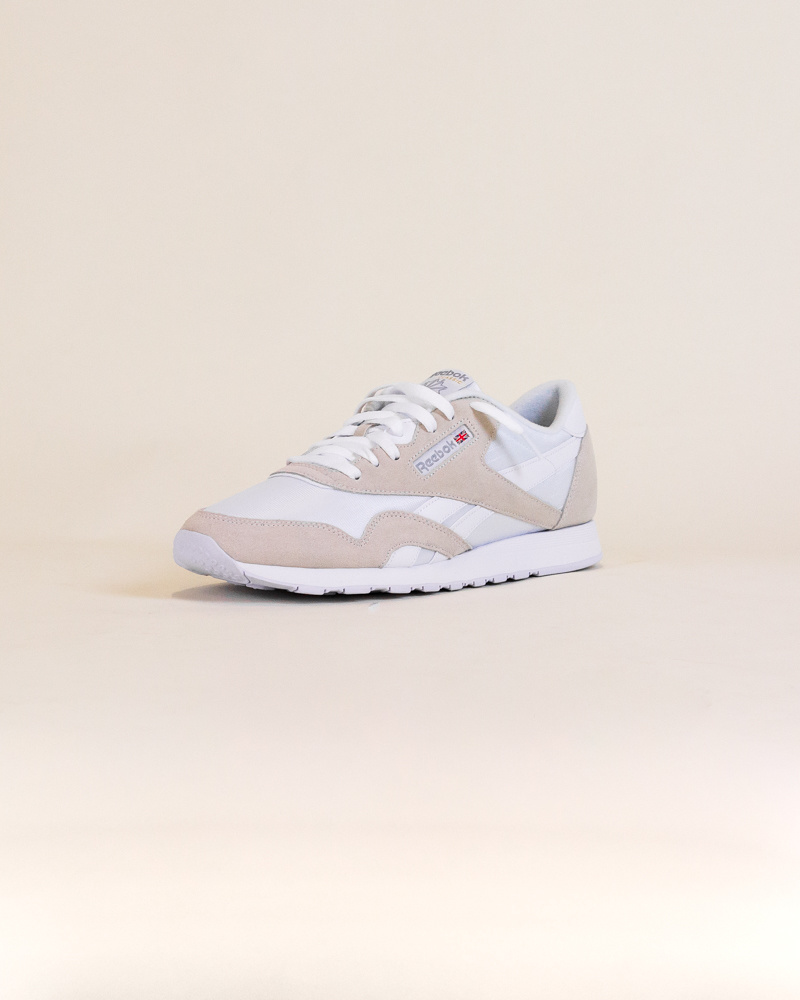 Reebok Classic Nylon - White/Gray-6