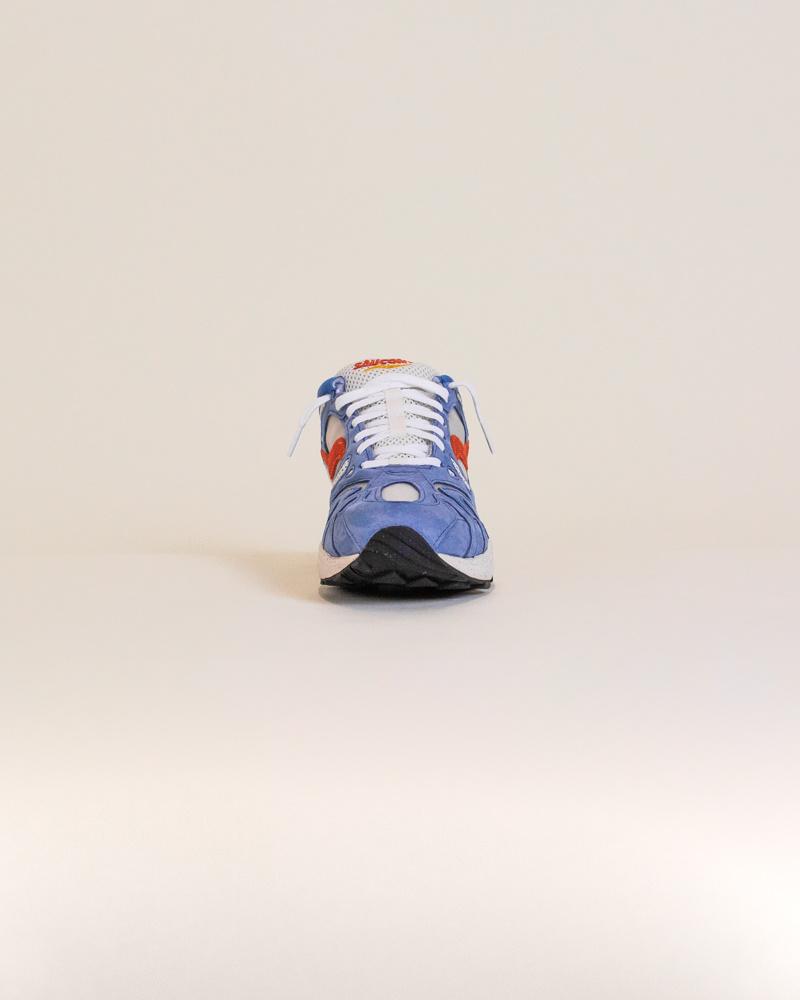 Saucony Grid Azura 2000 - Blue/Orange-5