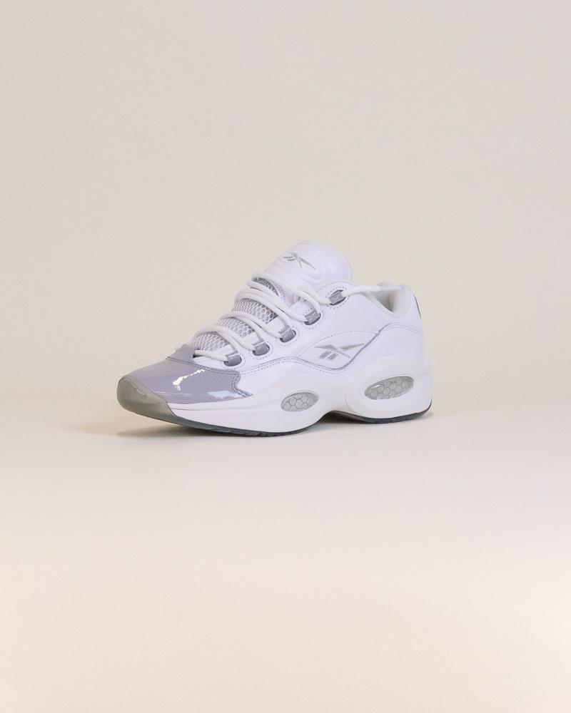 Reebok Question Low - White/Gray-3
