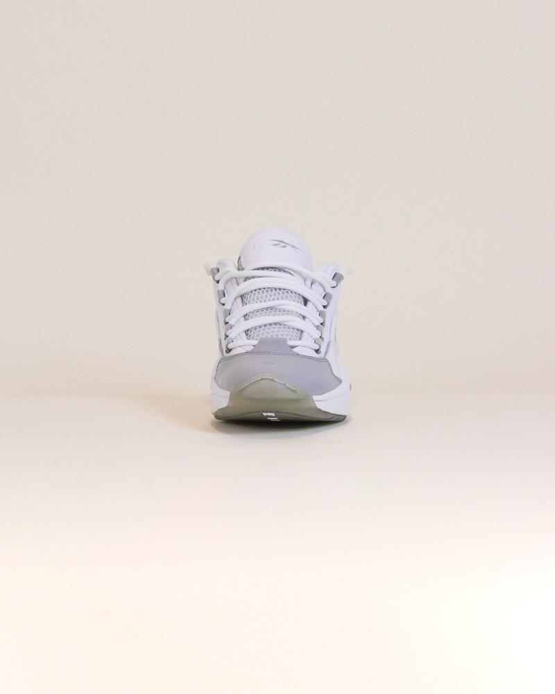 Reebok Question Low - White/Gray-5