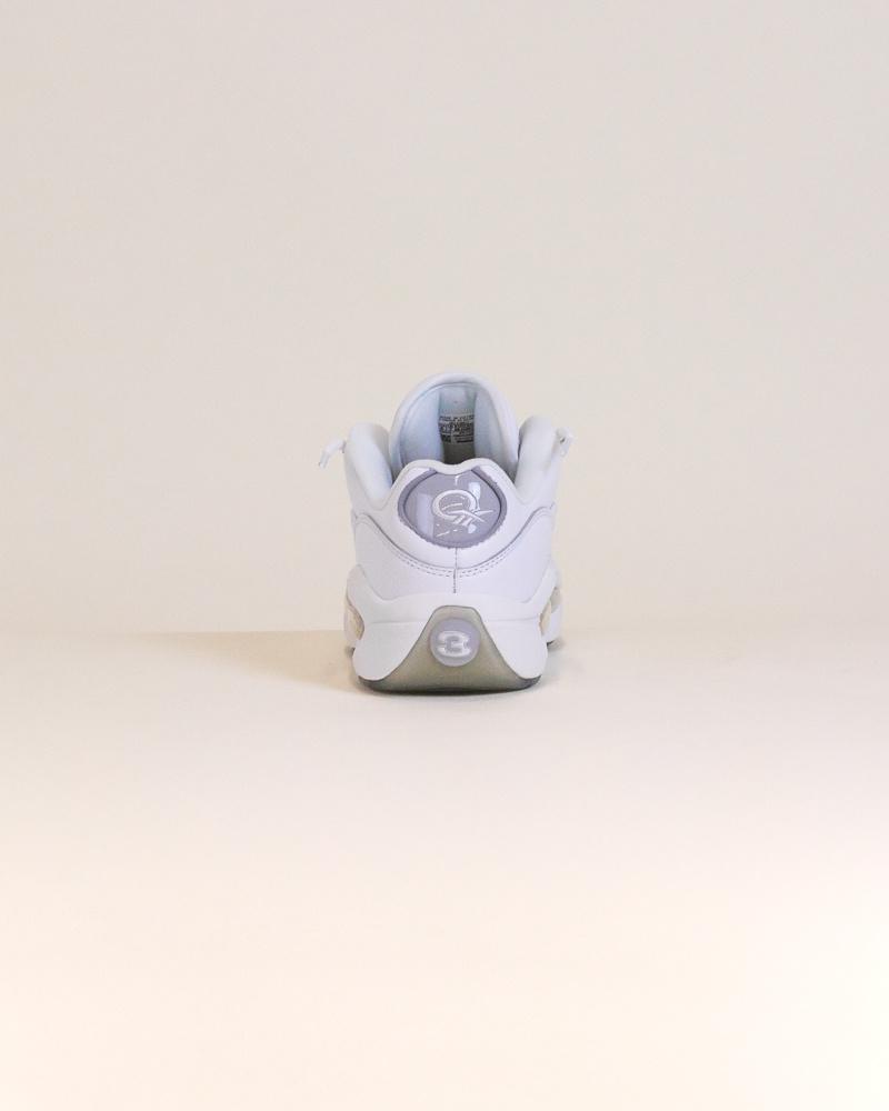 Reebok Question Low - White/Gray-6
