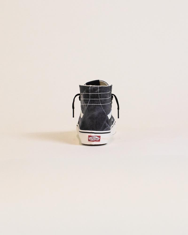 Vans Sk8-Hi Tapered Denim Destroy - Black-6