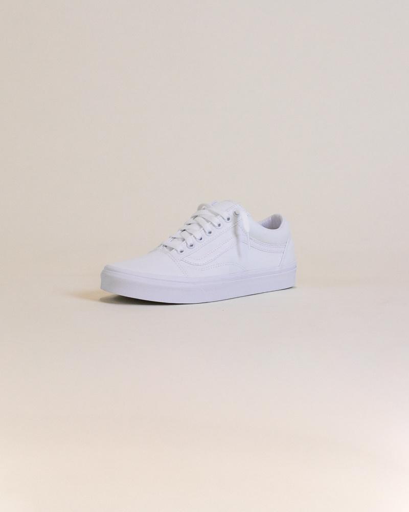 Vans Old Skool - White-3