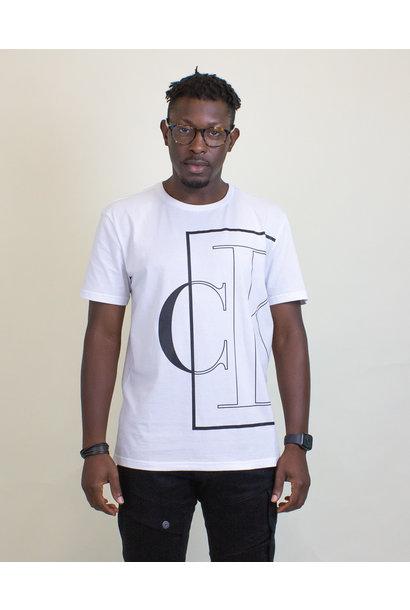 Calvin Klein Causal Logo Tee - White