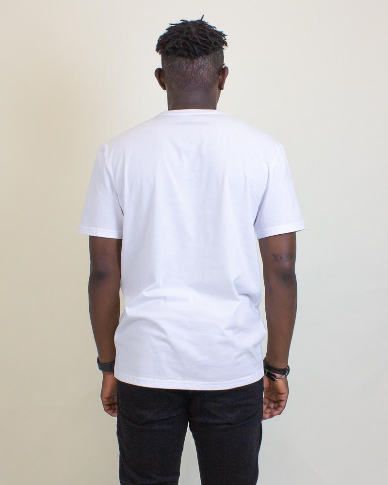 Calvin Klein Causal Logo Tee - White-2