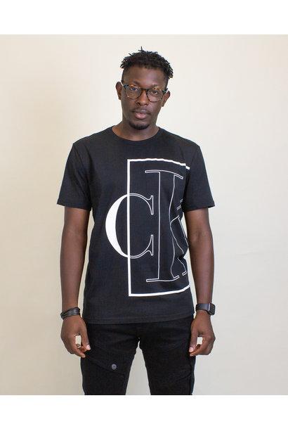 Calvin Klein Causal Logo Tee - Black
