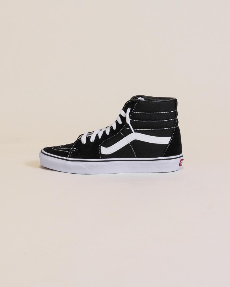 Vans Sk8-Hi - Black/White-1