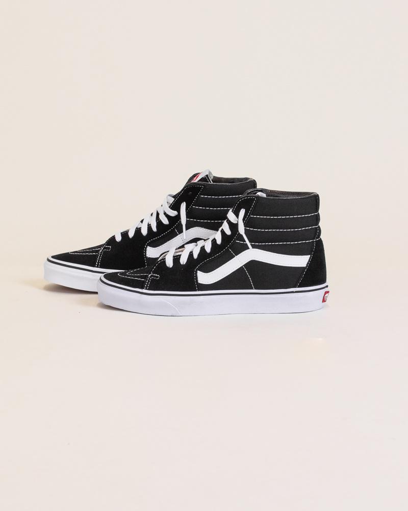 Vans Sk8-Hi - Black/White-2