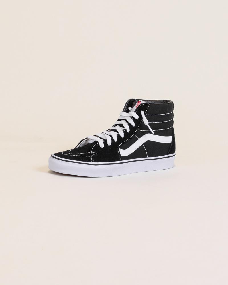 Vans Sk8-Hi - Black/White-3