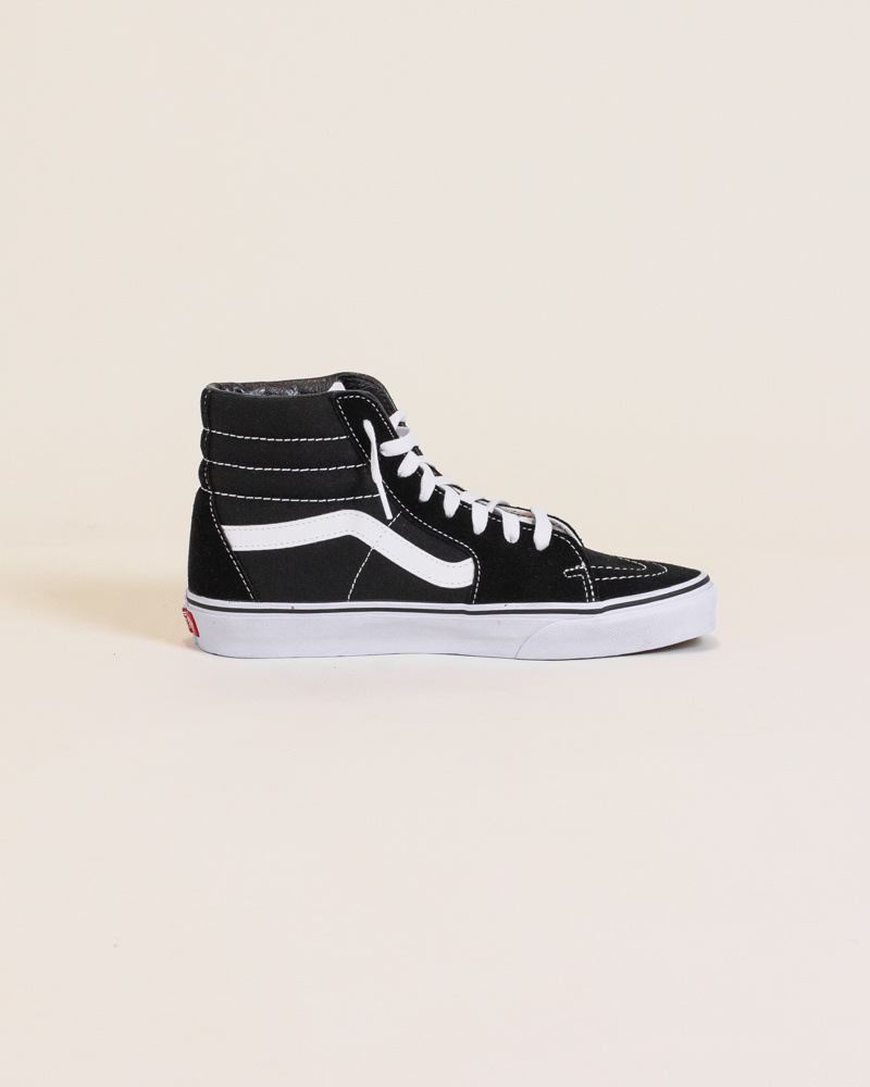 Vans Sk8-Hi - Black/White-4