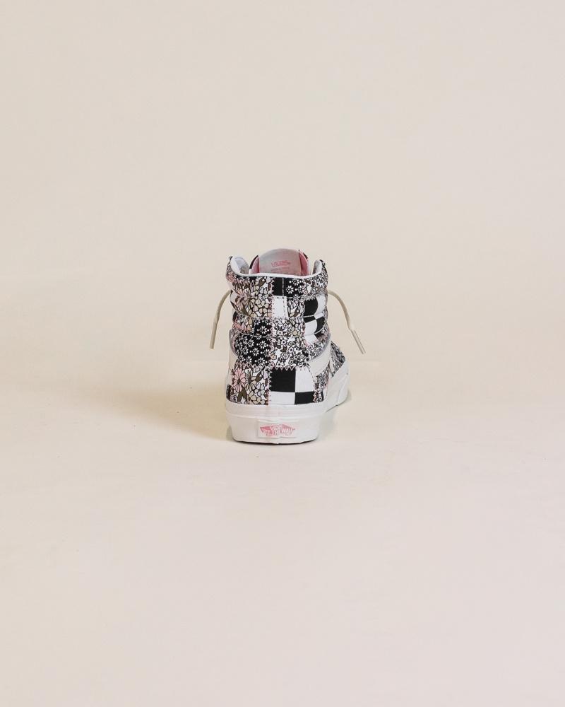 Vans Sk8-Hi Patchwork Flower - Marshmallow-6