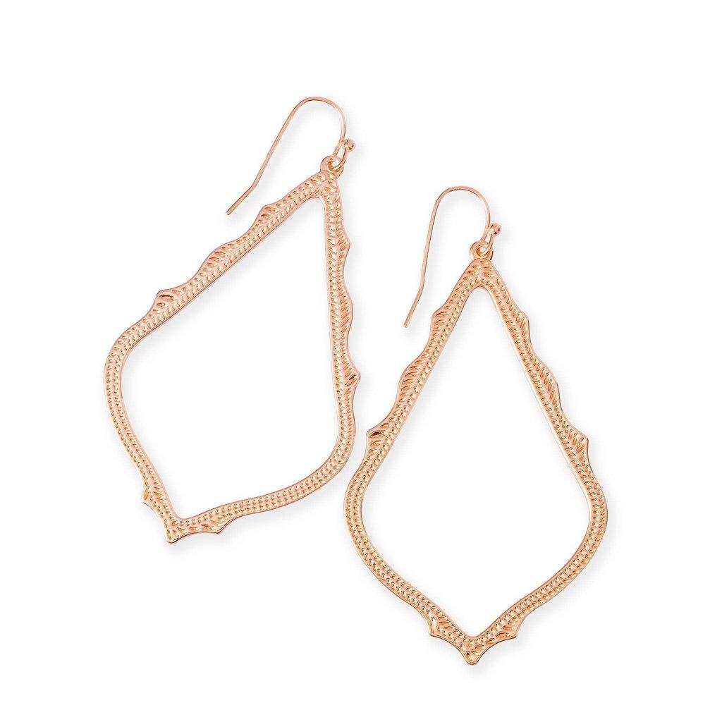 Kendra Scott Sophee Drop Earrings In Rose Gold