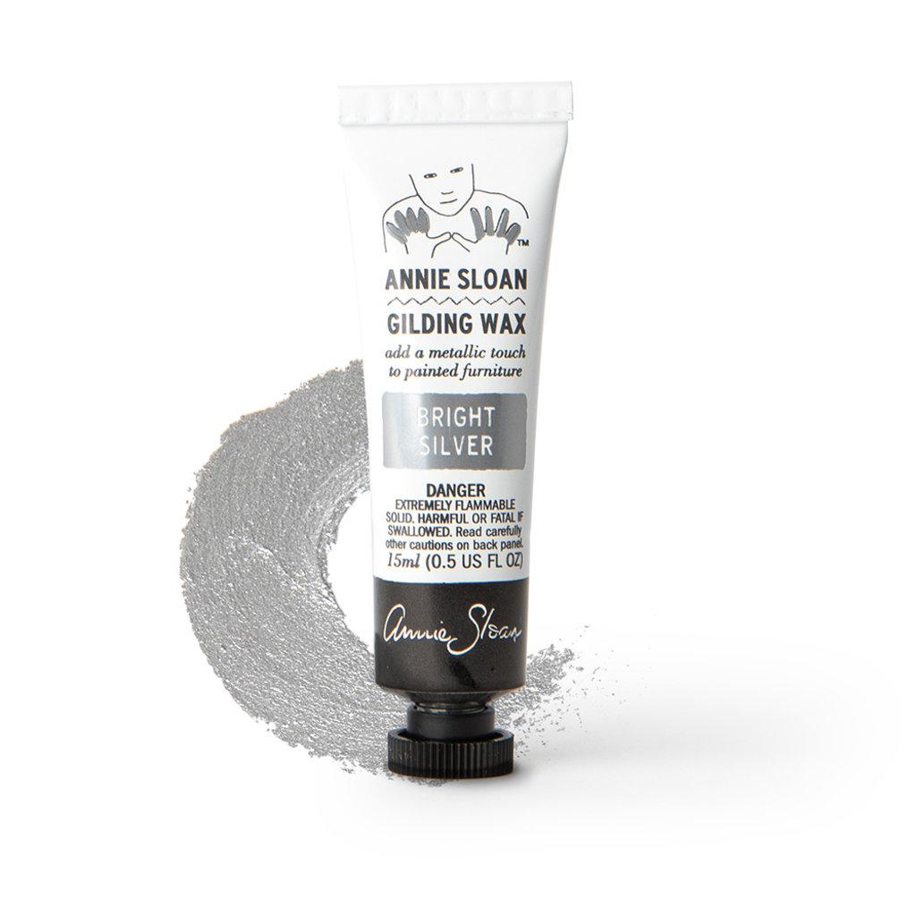 Annie Sloan® Bright Silver Gilding Wax