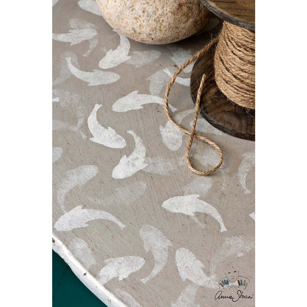 Annie Sloan® Fish Stencil