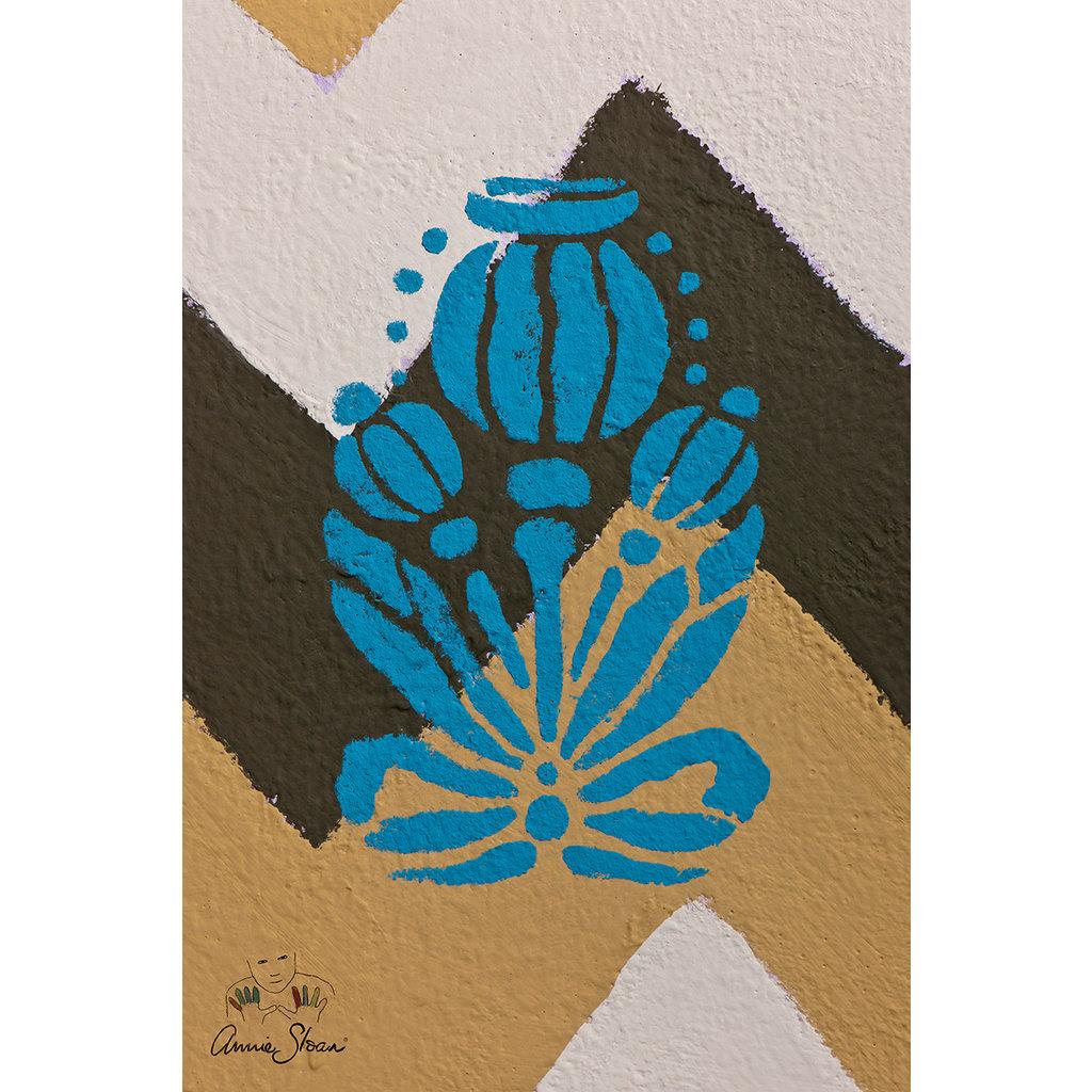 Annie Sloan® Poppy Pod Stencil