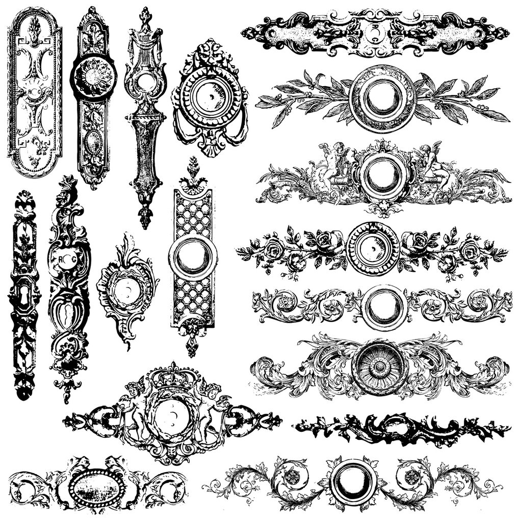 Iron Orchid Designs Backplates