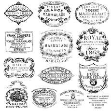 Iron Orchid Designs Crockery Decor Stamp
