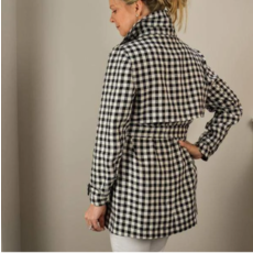 Bee Boutique Bryant Linen Jacket
