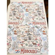 Southbank's Missouri Map Towel