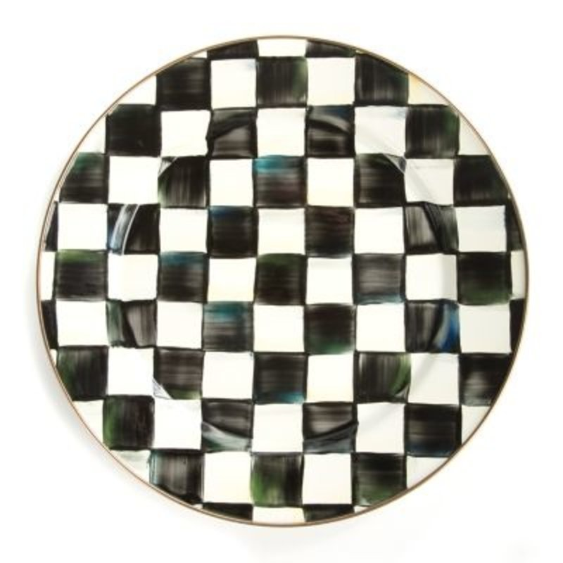 MacKenzie-Childs Courtly Check Charger/Plate