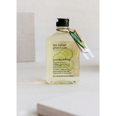 Margot Elena Cucumber & Honey Body Wash