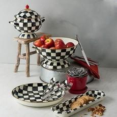 MacKenzie-Childs Courtly Check Enamel Everything Bowl