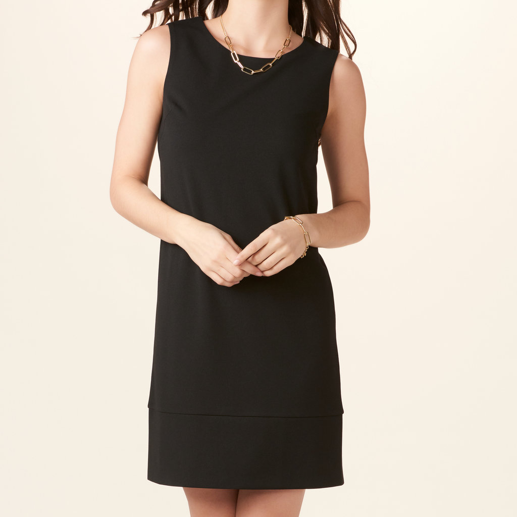 Bee Boutique Black Shift Dress