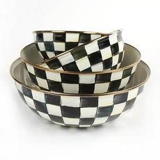 MacKenzie-Childs Courtly Check Enamel Everyday Bowl - Small