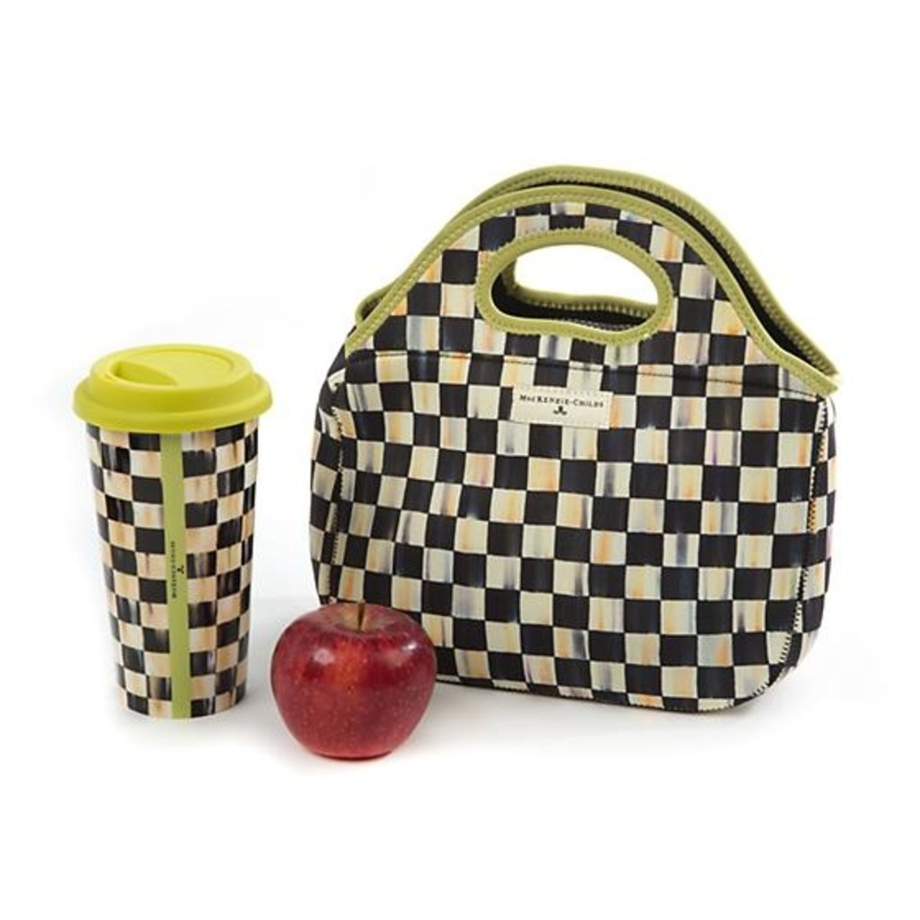 MacKenzie-Childs Courtly Check Lunch Tote