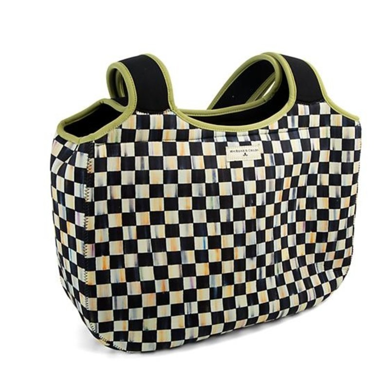 MacKenzie-Childs Courtly Check Carryall