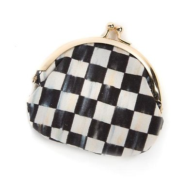 MacKenzie-Childs Courtly Check Coin Purse